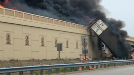 The Latest: 2 dead in semitrailer explosion in Wisconsin