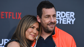 Jennifer Aniston had one requirement for Adam Sandler kissing scenes in 'Murder Mystery'