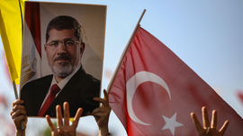 Turkey's Erdogan claims ex-Egyptian president was killed