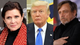 Carrie Fisher won't replace Donald Trump on Walk of Fame despite Mark Hamill's urging