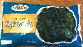 Frozen spinach recalled over possible listeria contamination