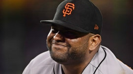 San Francisco Giants' Pablo Sandoval has hand stepped on after making play: 'It was worth it'