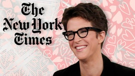 MSNBC's Rachel Maddow has a one-sided love affair with New York Times