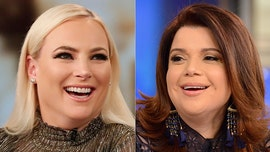 Meghan McCain leaves 'View' stage after clashing with Ana Navarro over whistleblower reports