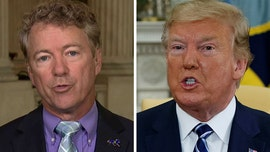 Rand Paul praises Trump, says it 'really takes a statesman to show restraint' amid calls for war