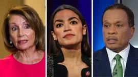 Juan Williams on Dem impeachment battle: Ocasio-Cortez motivated by 'fury,' Pelosi by winning in 2020