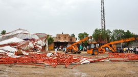 Tent collapses amid thunderstorm, heavy rain killing at least 14, injuring 50 in India
