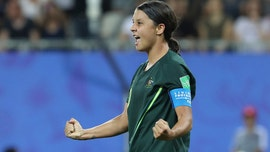 Kerr has 4 goals and Australia beats Jamaica 4-1