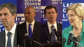 2020 Democrats courting South Carolina's African Americans voters in key early state