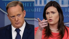 Sean Spicer: Sarah Sanders' departure 'absolutely not' tied to Trump's foreign dirt comments