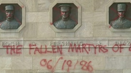 Kansas City World War I Memorial vandalized with spray paint