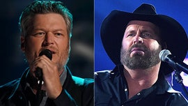Blake Shelton jokes that Garth Brooks is 'bullying' him over his relationship with Gwen Stefani