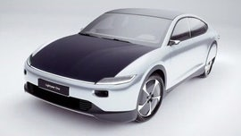 Dutch-designed solar-powered car debuts with sky high price