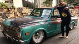 Post Malone's 1968 Chevy pickup isn't a typical rockstar car