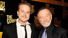 Robin Williams' son opens up about losing his father: 'Having to share him with the world was hard'