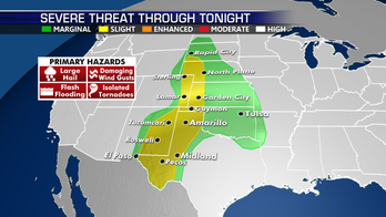 Severe storms continue across High Plains; low pressure in Bay of Campeche could gain steam