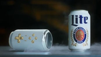 Miller Lite beer can is also a video game controller