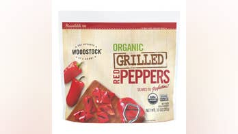 Frozen red peppers recalled over possible listeria