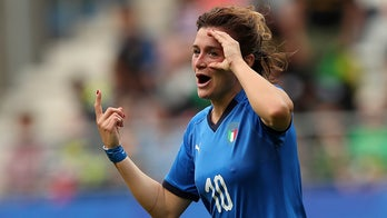 Italian soccer star scores country's first hat trick at Women's World Cup in 5-0 win over Jamaica