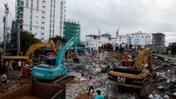 Building collapse leaves at least 19 dead, 24 injured in Cambodia
