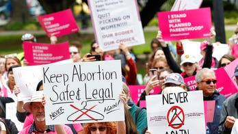 Pro-choice Dems laud 'safe, legal' abortion on Roe v. Wade anniversary
