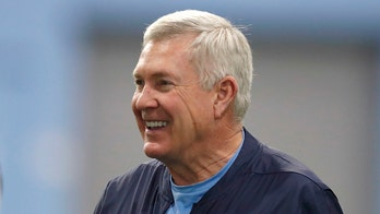 North Carolina coach Mack Brown has knee replacement surgery done by former player