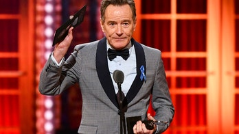 Bryan Cranston defends media during speech at Tony Awards