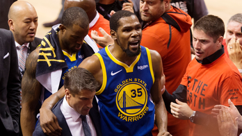 Warriors GM gets emotional, says Kevin Durant has Achilles injury