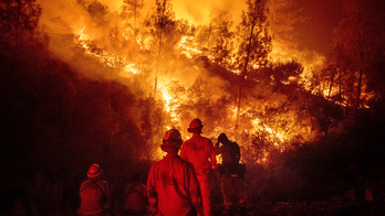California's largest wildland fire started by hammer sparks