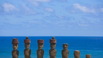 Chilean man crashes truck into sacred Easter Island stone statue, sparks furor