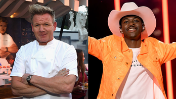 Gordon Ramsay and Lil Nas X meet up to make panini sandwiches, play with knives