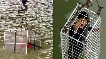 Harry Houdini trick recreation goes awry in India, stuntman feared dead