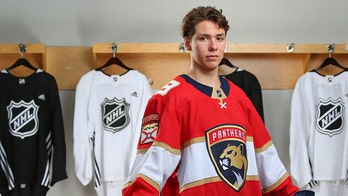 Florida Panthers draft pick had driver's test same day he was selected