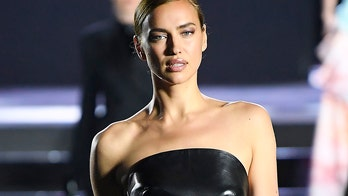 Irina Shayk hits the runway for the first time since Bradley Cooper split