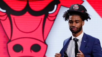 Chicago Bulls draft pick Coby White gets emotional after learning college teammate was selected