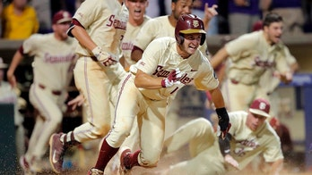 FSU's Martin back to CWS; Michigan in 1st time since 1984
