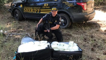 Estimated $1M worth of meth found in suitcases in Washington state forest, sheriff says