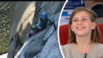 10-year-old girl is youngest to climb El Capitan: 'I did it to have fun'
