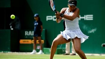 Top-ranked Osaka loses in 2nd round in Birmingham