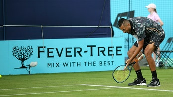 Nick Kyrgios rages at umpire, accuses official of 'rigging' match