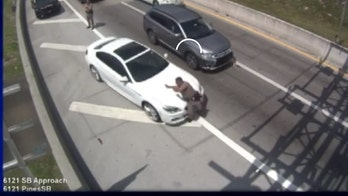Florida trooper hospitalized in dramatic turnpike hit-and-run caught on camera