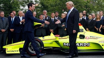 Trump meets with 'incredible' Indy 500 winner Pagenaud, team owner Penske at White House