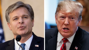 Trump voices confidence in Wray, day after refusing to say if he has faith in FBI director