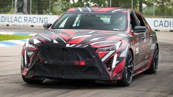 Cadillac teases its next high performance sports sedans