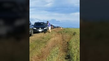 Google Maps sends dozens of drivers down muddy dirt road