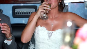 Bride gets third-degree burn on her butt, tries to drink her pain away instead of canceling the wedding