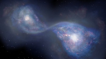 Scientists spot merging galaxies from 13 billion years ago