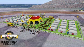M&M's opening 'Glampground' at Kentucky and Bristol NASCAR races
