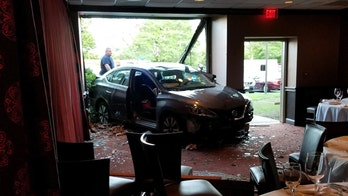87-year-old woman crashes car through Ruth's Chris Steak House