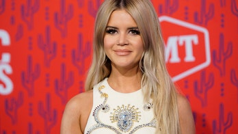 Maren Morris rocks embellished mini dress with cut-out at CMT Music Awards
